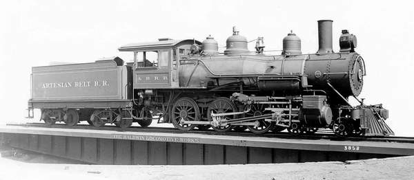 Artesian Belt Railroad Engine #2
